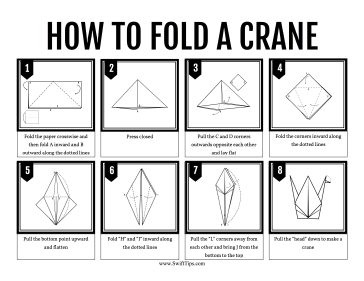how do you fold an origami crane 28 images second to